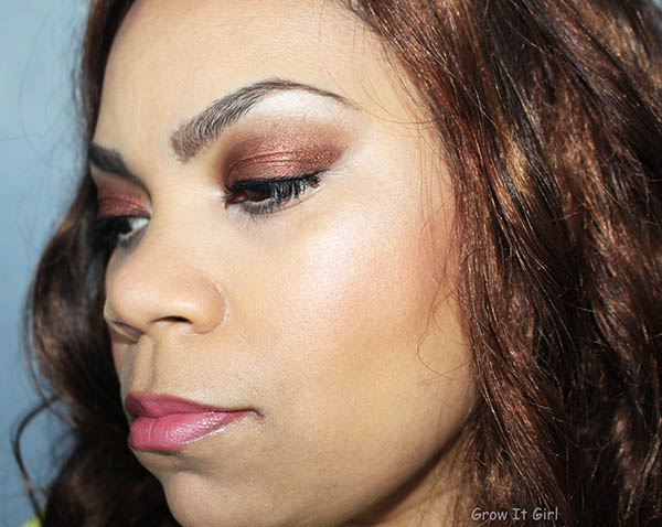 New Year's Makeup Look