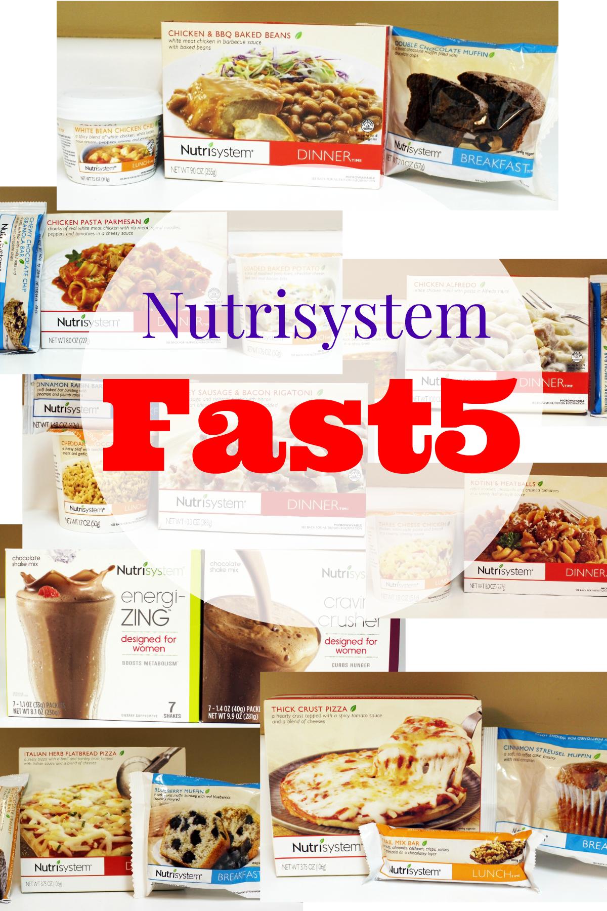 Week In Review on the Nutrisytem Fast 5 Program