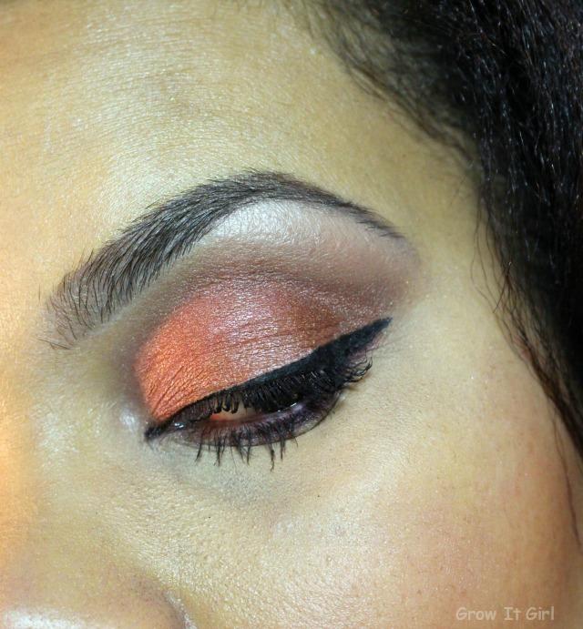 Marsala Eye Look Collab