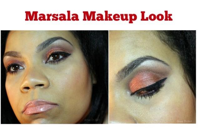 Marsala Makeup Look FE