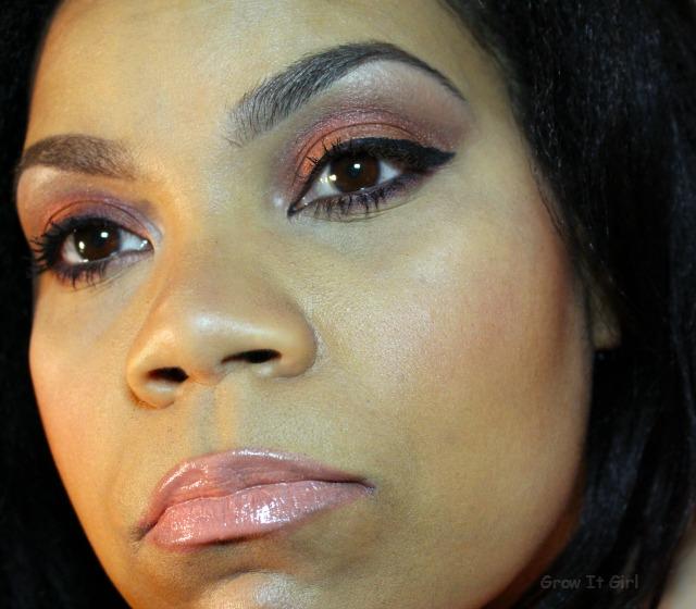 Marsala Makeup Look Full Face