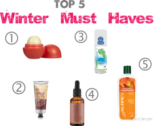 Top 5 Winter Must Have Items