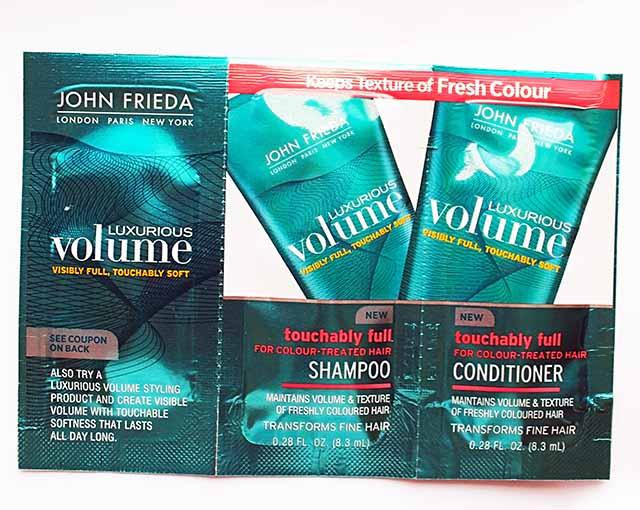 John Frida Shampoo, Conditioner, and Treatment