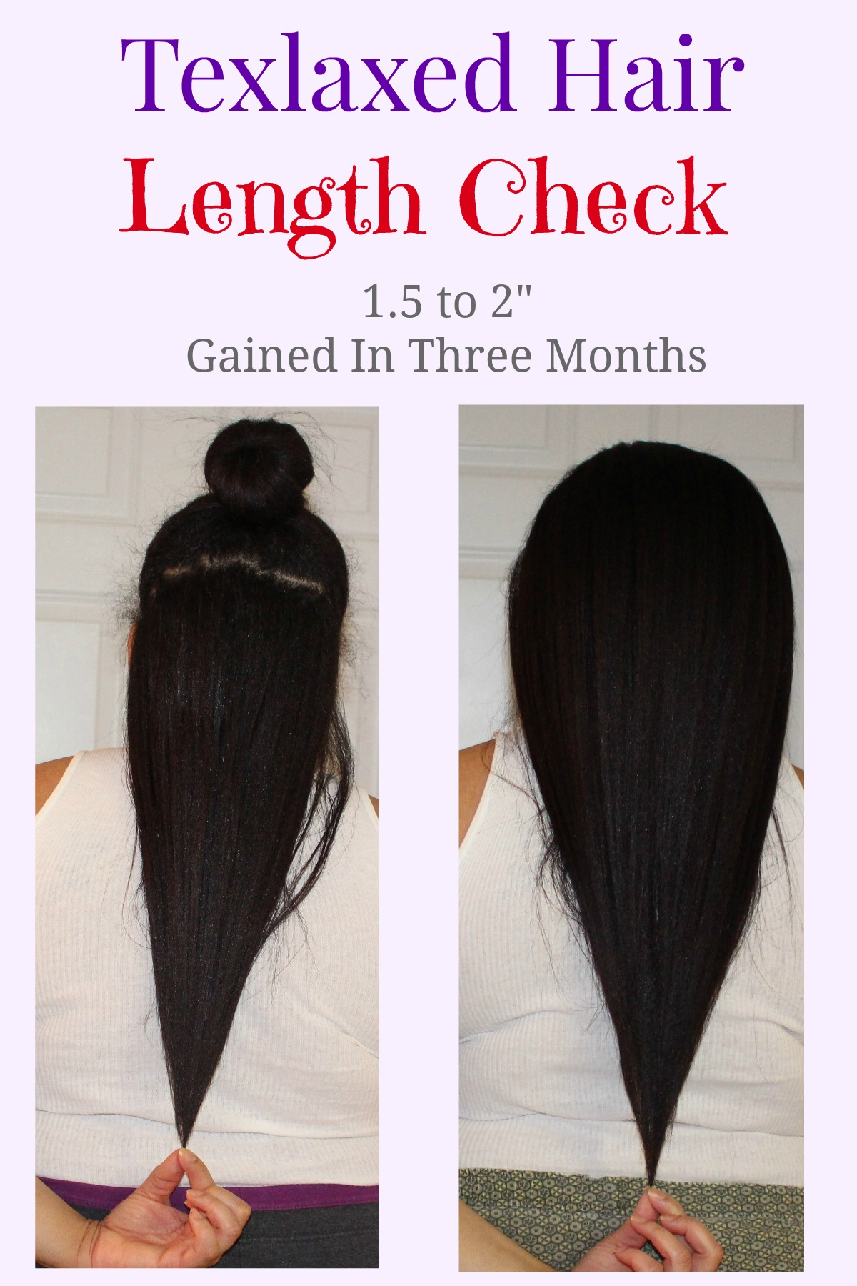 Texlaxed Hair Length Check Comparison