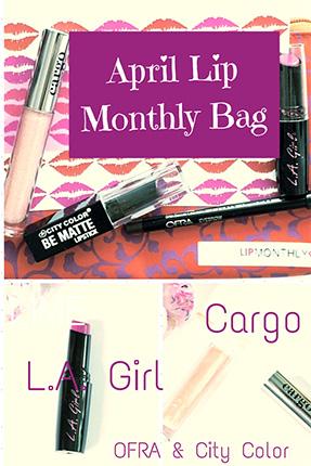 Lip Monthly Bag April 2015