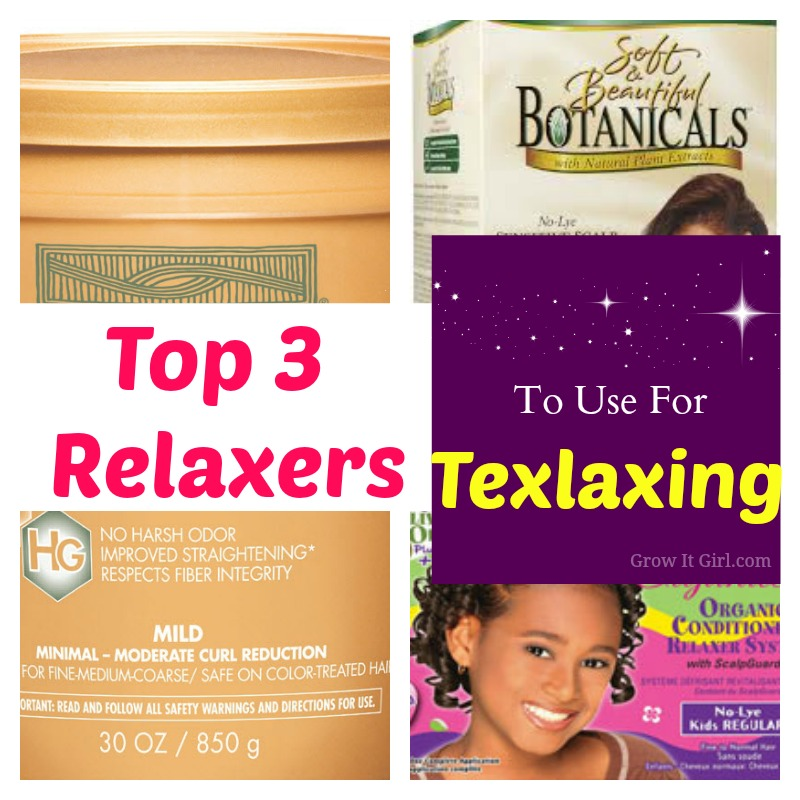 Top Three Relaxers to Use for Texlaxing Your Hair