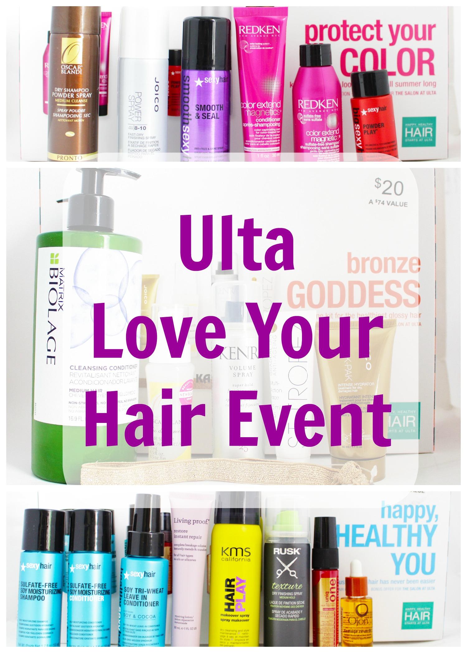Ulta Love Your Hair Event