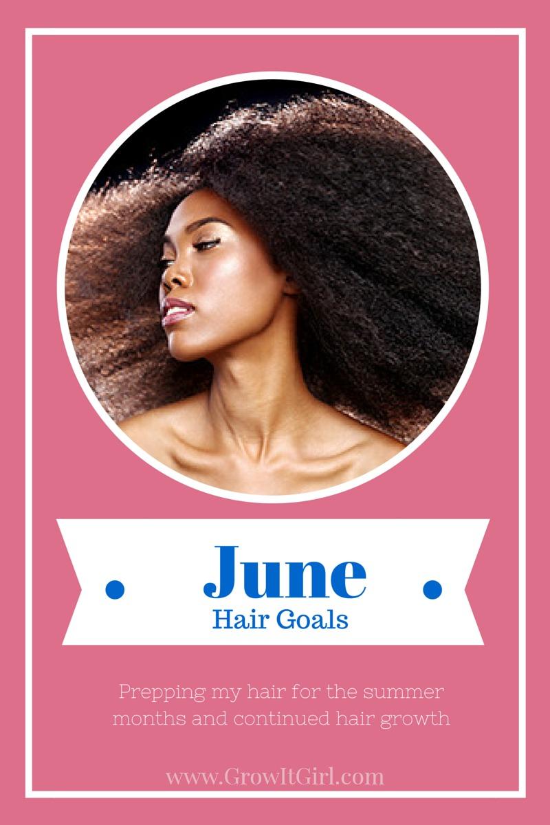 June Hair Goals