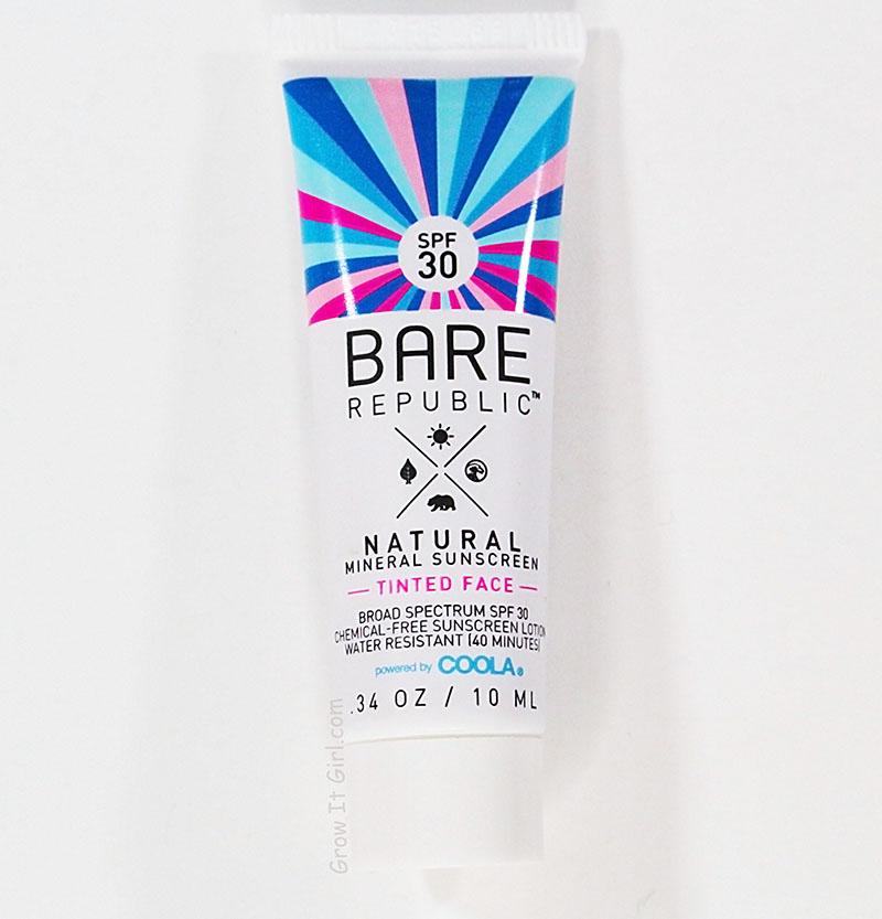 Bare Republic Tinted Sunscreen