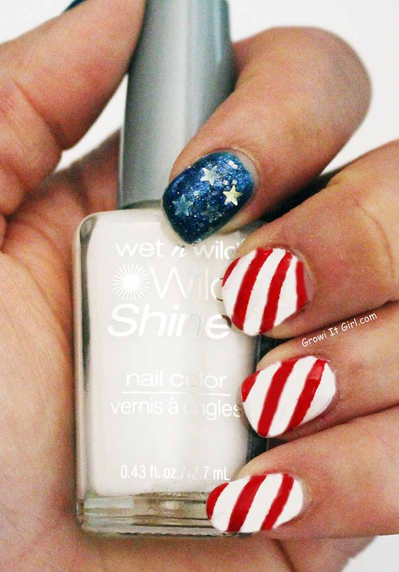 Holiday Inspired 4th of July Nails
