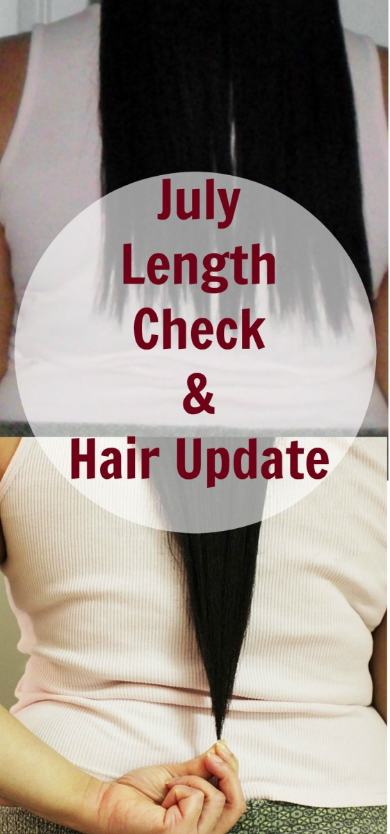 July Length Check and Hair Update Comparison