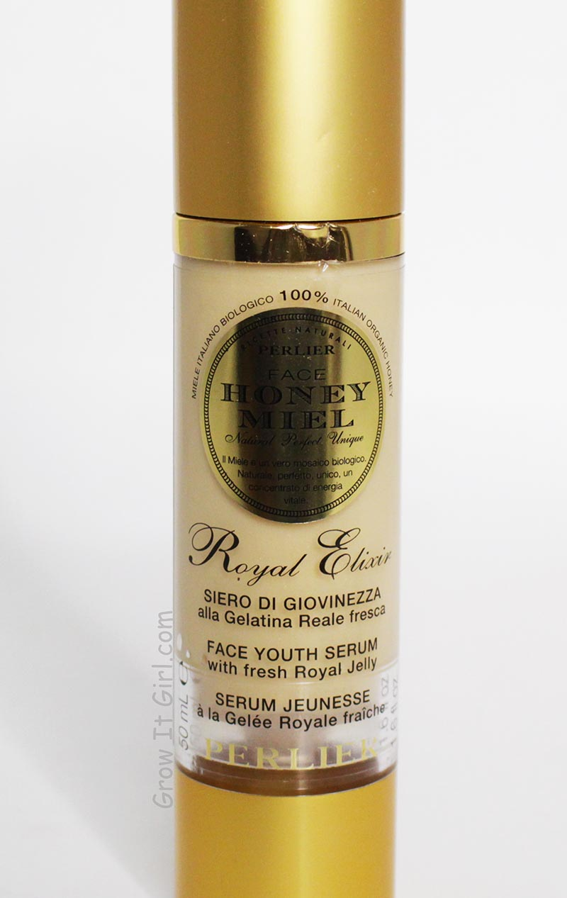 Perlier Face Royal Elixir Youth Serum_Top 5 Moisturizers for Dry Sensitive Skin