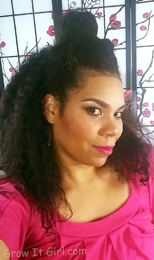 Braid Out for the Return of my Texlaxed Wash Day Grow It Girl