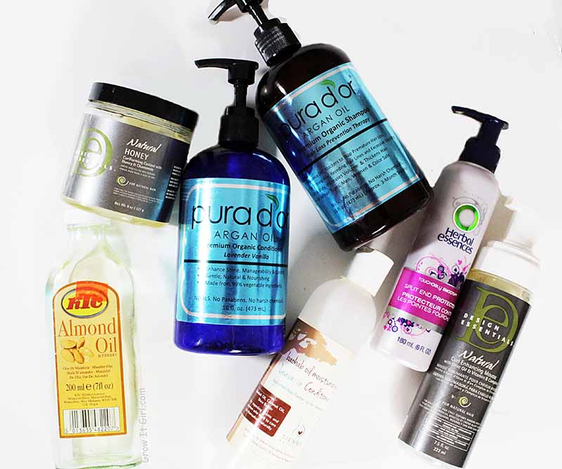 Return of my Texlaxed Wash Day Hair Products
