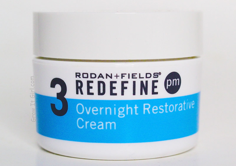 Rodan and Fields Redefine Overnight Restorative Cream_Top 5 Moisturizers for Dry Sensitive Skin
