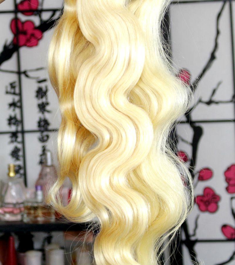 Russian Blonde Body Wave Hair Bundles