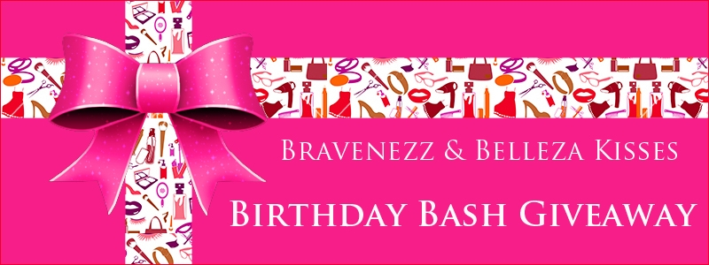 Braveness and Bellza Kisses Birthday Bash Giveaway