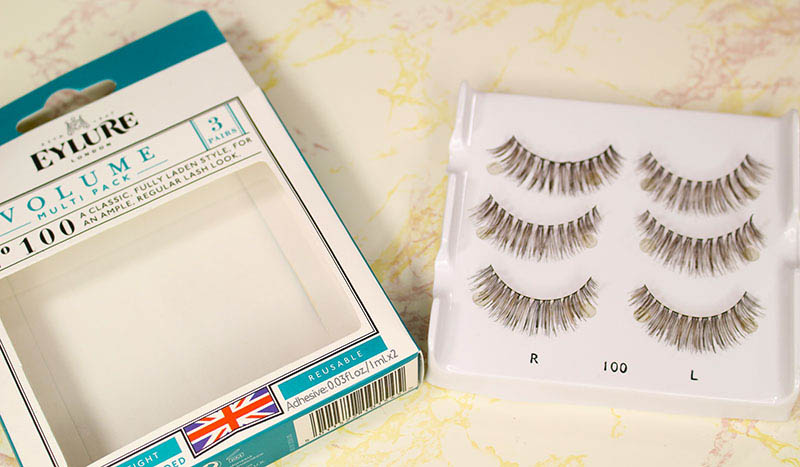 Eylure Volume Lashes from my lashes try-on and review. www.growitgirl.com