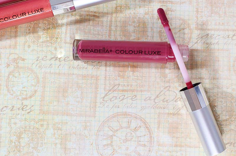 Mirabella Colour Luxe Lip Gloss in Sleek