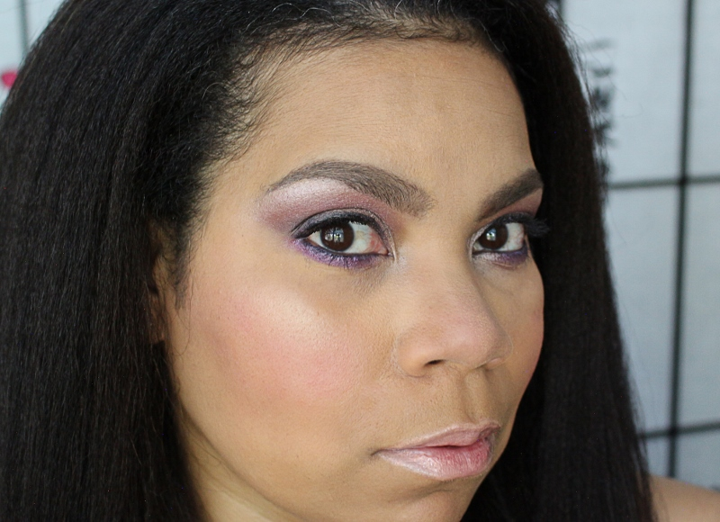 Tiki Makeup Look from the LuxePineapple Work It Box
