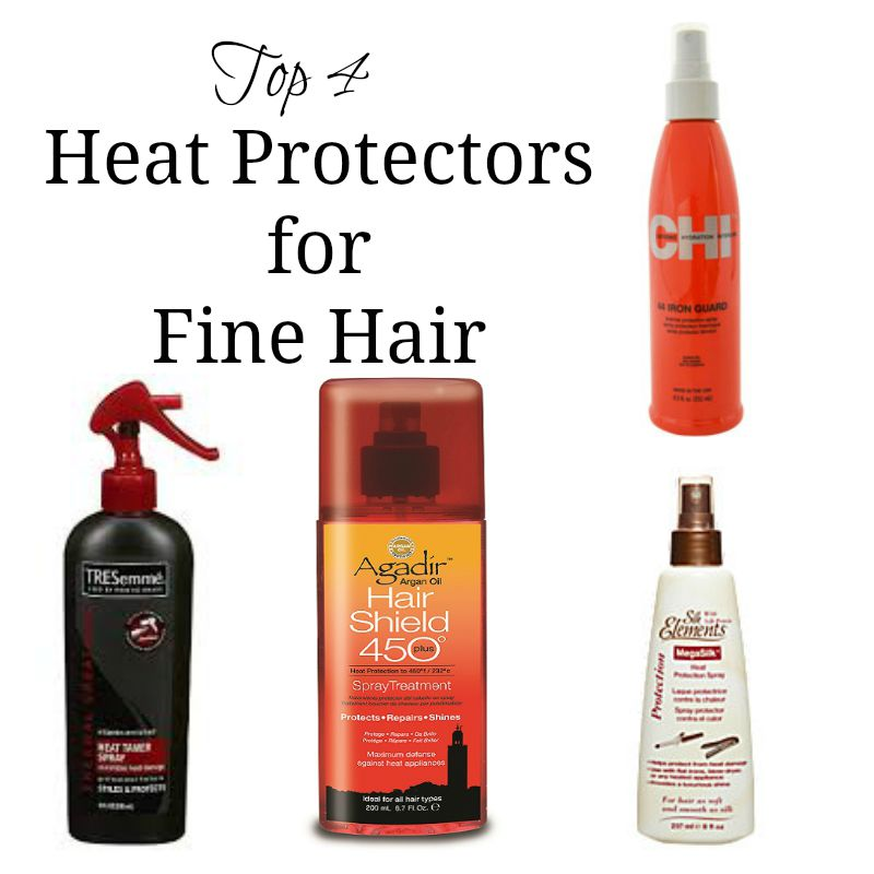 Top 4 Heat Protectors for Fine Hair