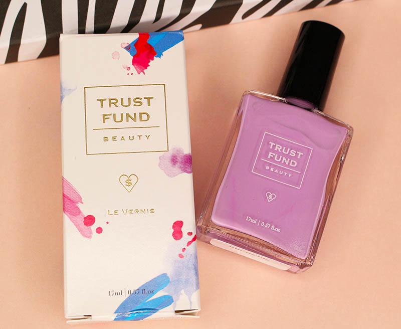 But Daddy Nail Polish by Trust Fund polish. A pigmented formula received in the LuxePineapple Work It Box. www.growitgirl.com