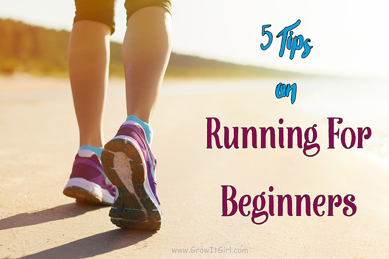 5 tips on running for beginners that will save you time and frustration when starting out. www.growitgirl.com