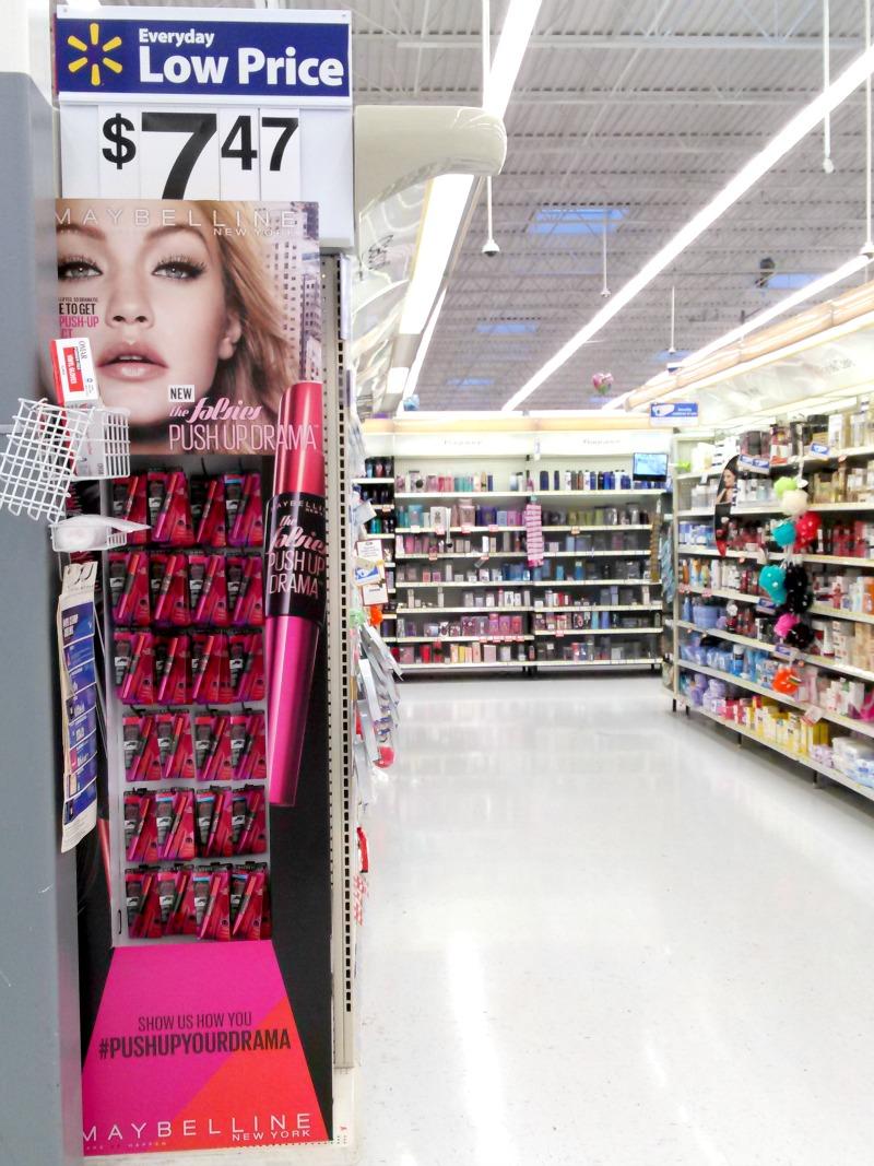 Maybelline The Falsies Push Up Drama Mascara Display At Walmart