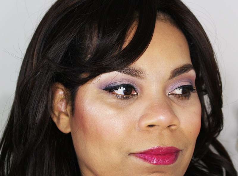 My finished fall date night makeup look using the Maybelline The Falsies Push Up Drama Mascara. www.growitgirl.com