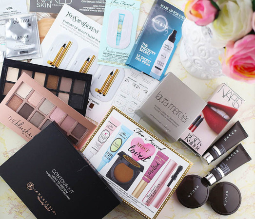 A look at my recent Sephora and Ulta makeup haul with items from Anastasia, Becca, Laura Mercier, and more. www.growitgirl.com
