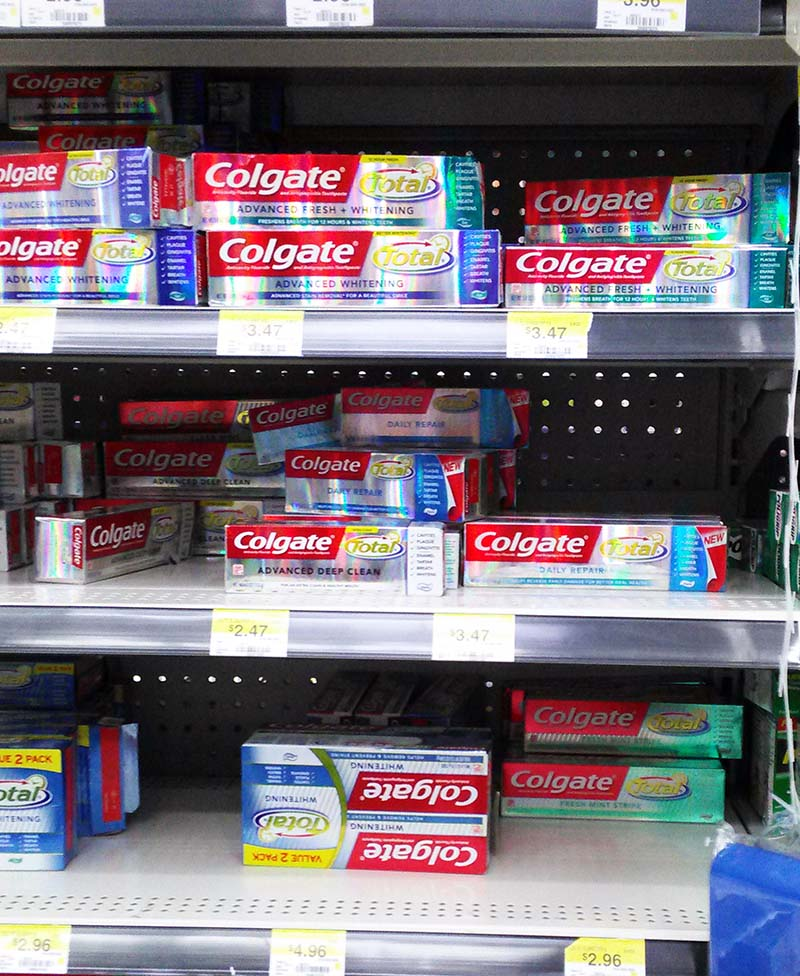 Colgate Total Daily Repair Toothpaste In Walmart