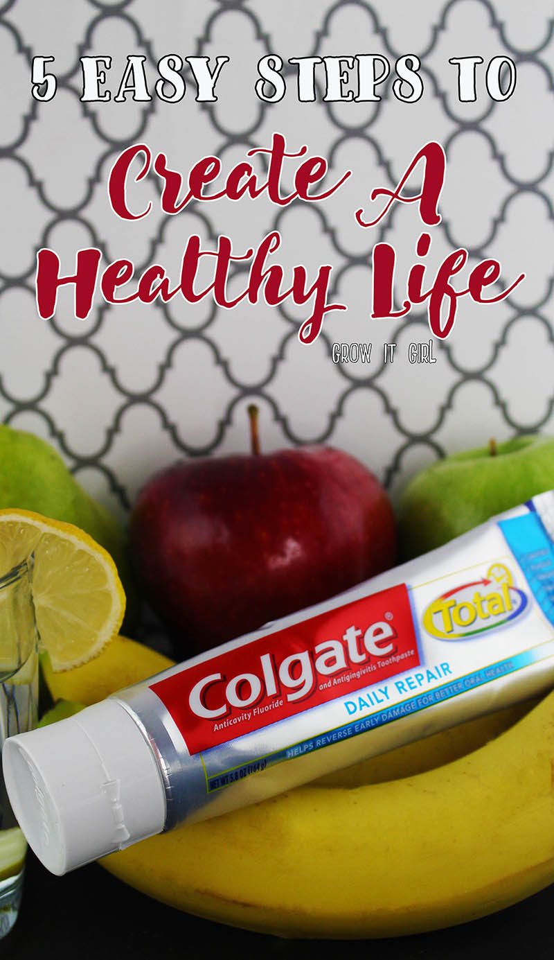 Create A Healthy Life For Tomorrow with 5 Easy Steps