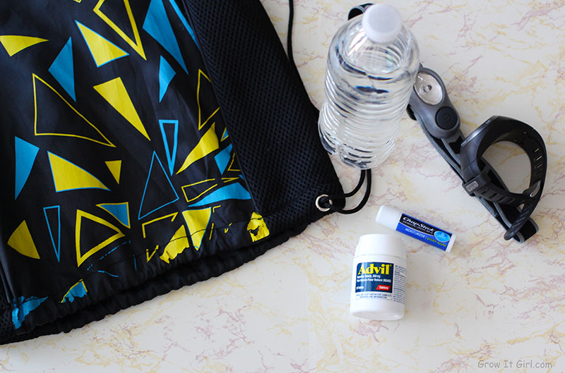 Personal Running Bag Essentials