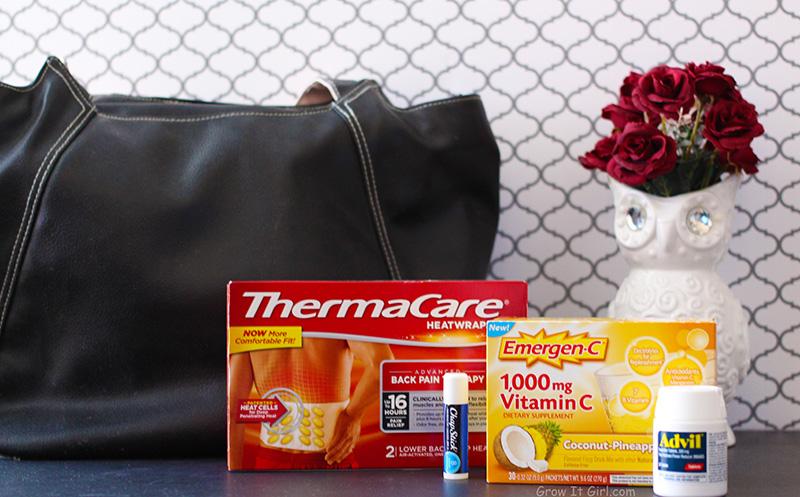 Pfizer Items In My Winter Running Bag