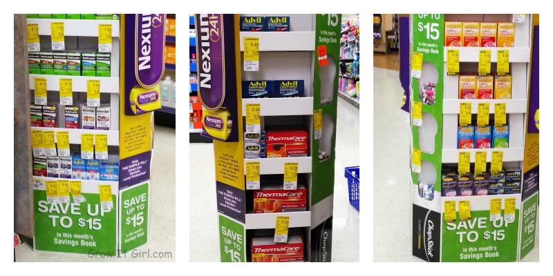 Pfizer Savings Display
