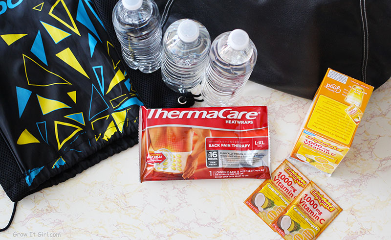 Therma Care and Emergen-C Essentials For Winter Running Bag