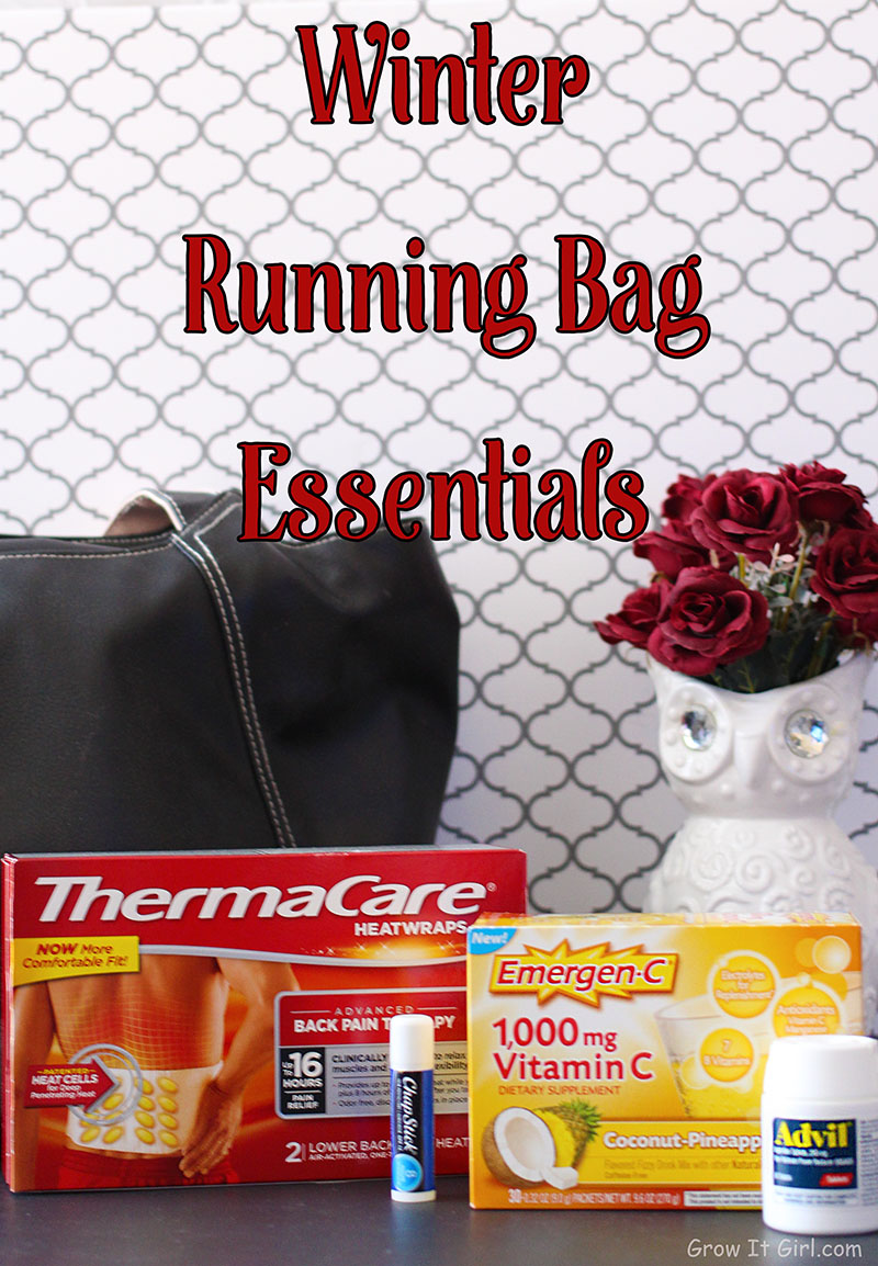 A look at my essentials for my running bag during the winter to stay healthy.