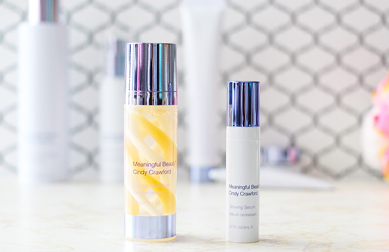Meaningful Beauty Review Creme de Serum and Glowing Serum