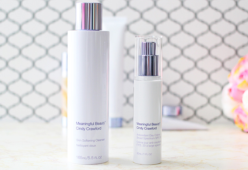 Meaningful Beauty Review Skin Softening Cleanser and Antioxidant Day Creme with SPF 20. www.growitgirl.com