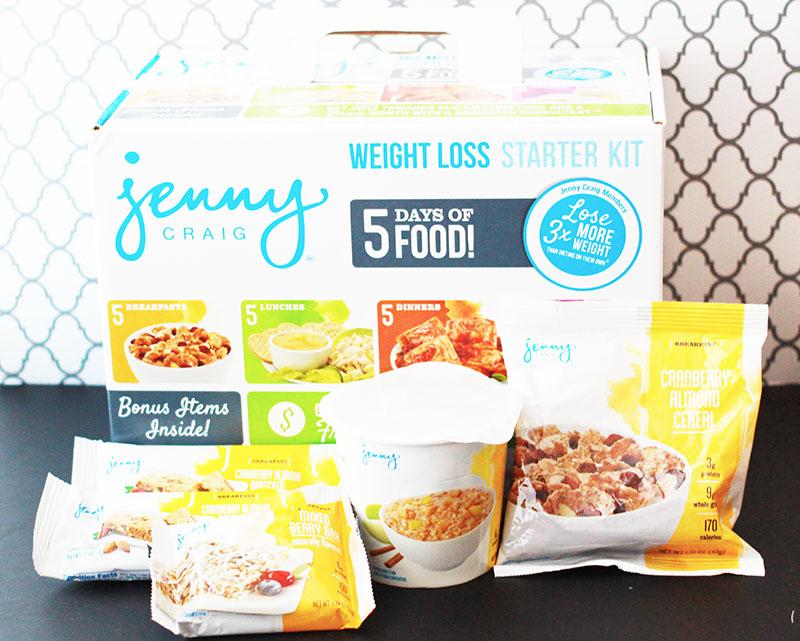 Jenny Craig Weight Loss Starter Kit Breakfast Items