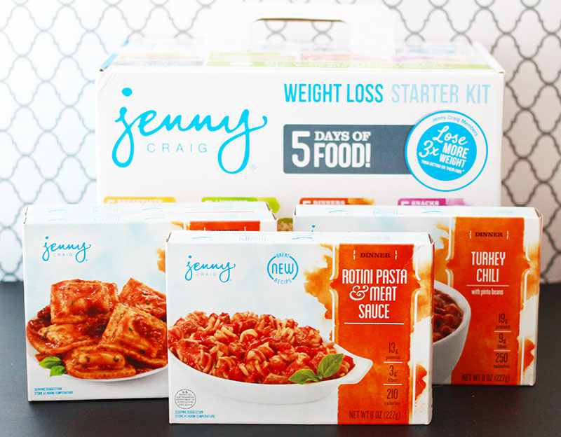 Jenny Craig Weight Loss Starter Kit Dinner Meals