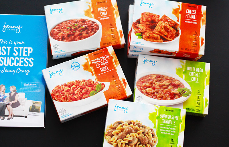 Jenny Craig Weight Loss Starter Kit Lunch and Dinner Meals