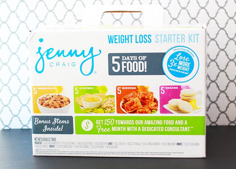 Jenny Craig Weight Loss Starter Kit