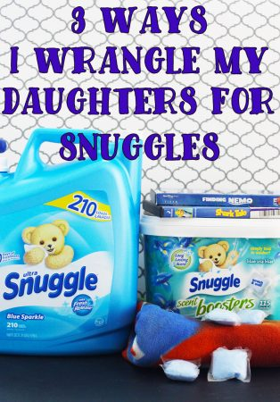 3 Ways I Wrangle My Daughters For Snuggles