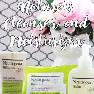Neutrogena Naturals Moisturizer Cleanser and Makeup Wipes Products