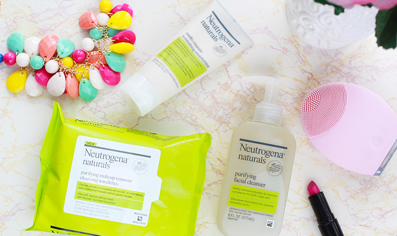 Neutrogena Naturals Moisturizer Cleanser and Makeup Wipes