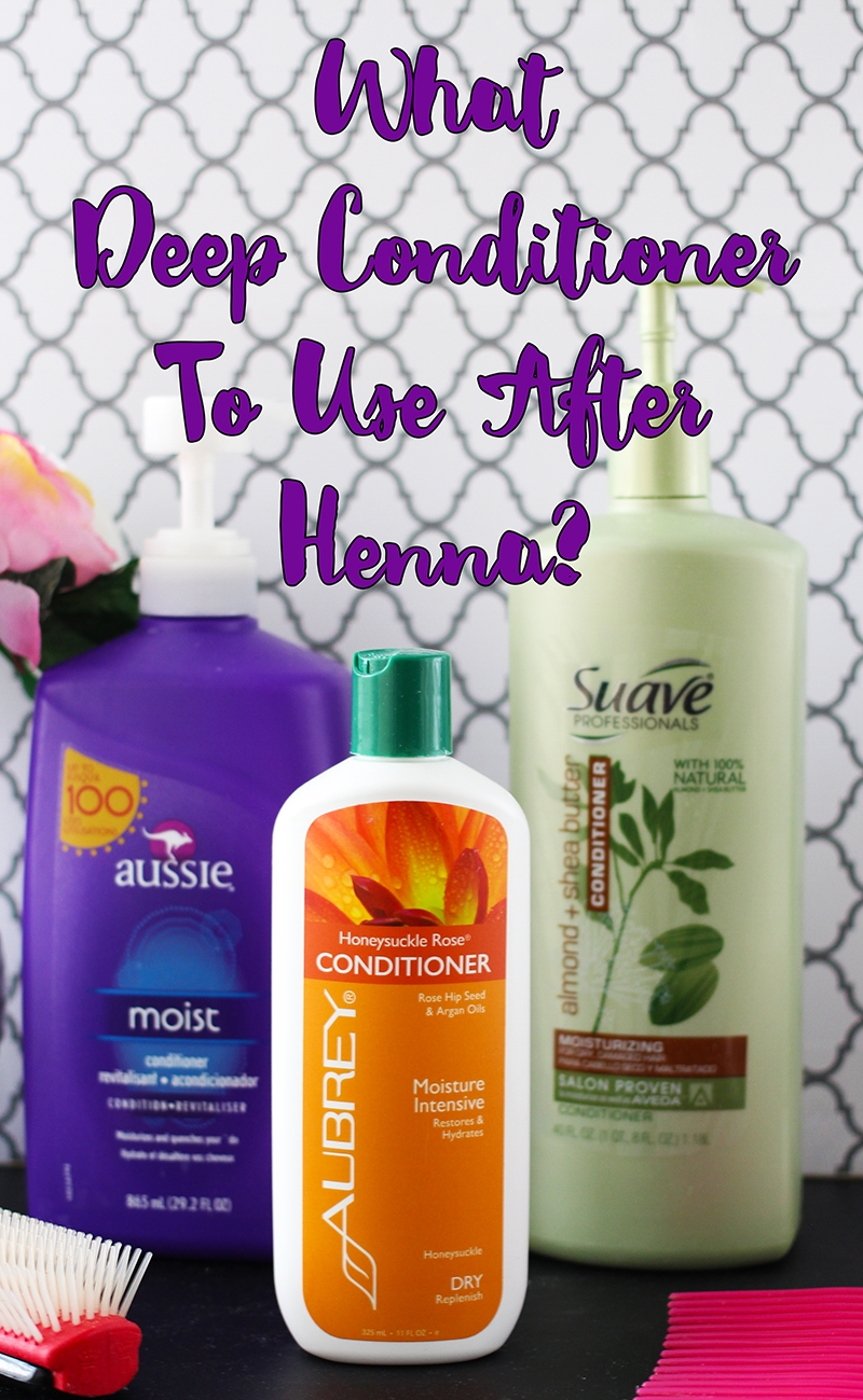 what deep conditioner to use after henna