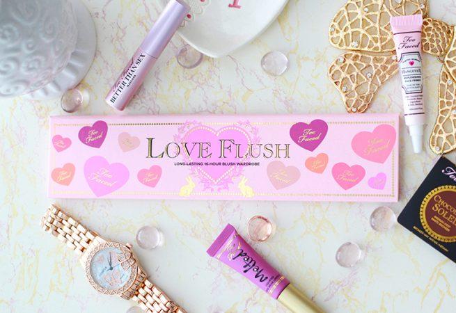 Too Faced Love Flush Blush Wardrobe