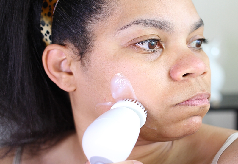 dry girl's guide to skincare using CeraVe Hydrating Cleanser
