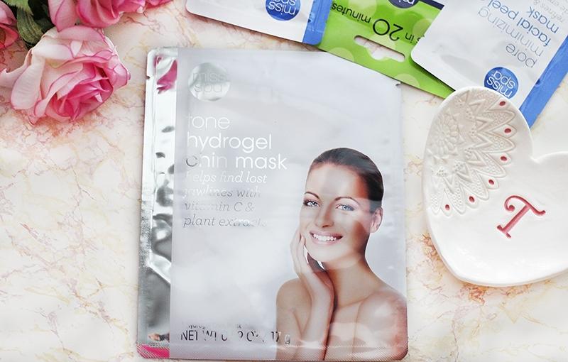 Miss Spa Tone Hydrogel Chin Mask